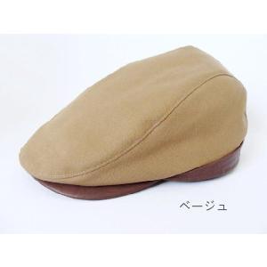 SLEEP SLOPE 帆布とフェイクレザーのハンチング|akamonbrother-rsgear