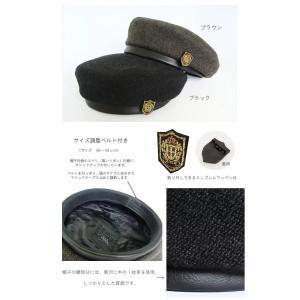 GLD ウールツイードとレザーのベレー帽 【日本製】|akamonbrother-rsgear