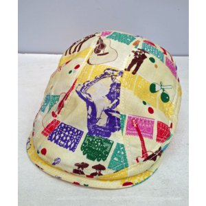 New York Hat #6122 GLOBAL PRINT 1900|akamonbrother-rsgear