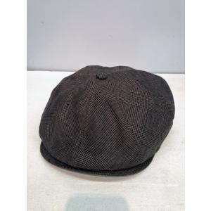 New York Hat #6299 LINEN PLAID GATSBY|akamonbrother-rsgear