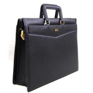 豊岡市製国産 合皮ブリーフバッグ ブラック ビジネスバッグ5619-01|akane-mart