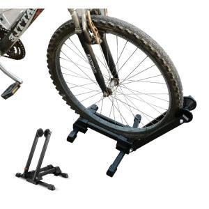 自転車 置き場 スタンド 屋内 省スペース 折りたたみ ロードバイク 駐輪 ディスプレイ 車輪 止め 収納 サイクル ラック クロスバイク 新生活 ny332の画像