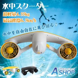 水中スクーター 電動 小型 海 沖縄 スキューバーダイビング マリンスポーツ od351|akaneashop