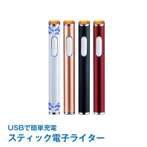 電子ライター 充電式 usb スリム USBライター ガス・オイル不要 趣味 コレクション タバコ 煙草 電熱式  rt012|akaneashop