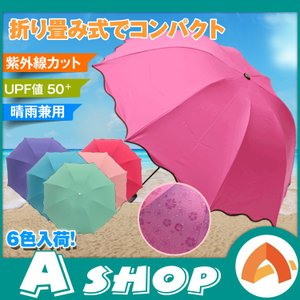 日傘 折りたたみ 遮光 UVカット 晴雨兼用 折りたたみ傘 レディース 軽量 花柄模様 浮き出る ホワイトデー 梅雨 zk085|akaneashop