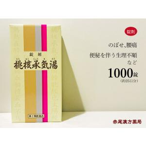 桃核承気湯トウカクジョウキトウ 1000錠 約25日分 第2...