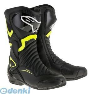 SMX6 レースブーツ ブラック/蛍光イエロー 40/25.5cm アルパインスターズ(alpinestars)の商品画像|ナビ