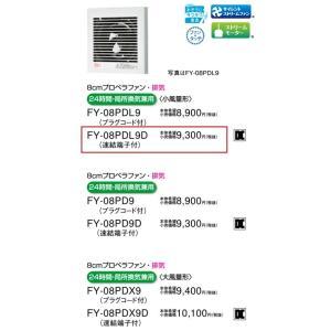 【パイプファン】【適用パイプ:Φ100mm】FY-08PDL9D akarikaninfini