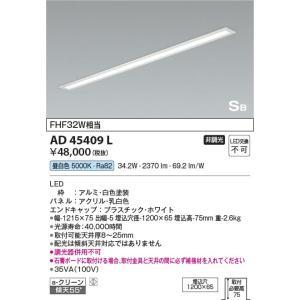 AD45409L 埋込キッチンライト  LED(昼白色) コイズミ照明 (KA) 照明器具|akariyasan