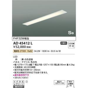 AD45412L 埋込器具  LED(電球色) コイズミ照明 (KA) 照明器具 akariyasan