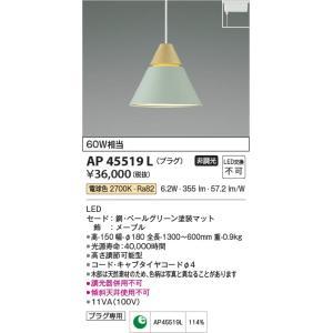 AP45519L ペンダント (プラグ)・レール専用 LED(電球色) コイズミ(KP) 照明器具|akariyasan