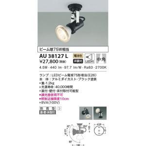 AU38127L アウトドアスポットライト  LED(電球色) コイズミ照明 (KA) 照明器具|akariyasan