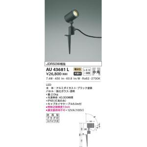 AU43681L アウトドアスパイクスポット  LED(電球色) コイズミ照明 (KA) 照明器具|akariyasan