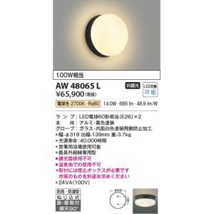 AW48065L 営業用浴室灯  LED(電球色) コイズミ照明 (KA) 照明器具 akariyasan