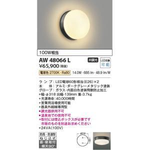 AW48066L 営業用浴室灯  LED(電球色) コイズミ照明 (KA) 照明器具|akariyasan