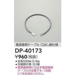 DP-40173 電源接続ケーブル ※対応機種専用  大光電機 【DDS】 照明器具【RCP】|akariyasan