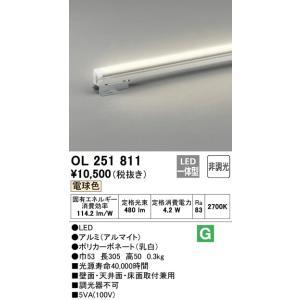 OL251811 室内用間接照明 LED(電球色・2700K) オーデリック 照明器具【RCP】|akariyasan