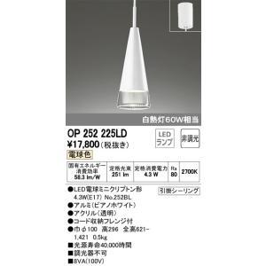 OP252225LD ペンダントライト(直付) LED(電球色)  オーデリック 照明器具【RCP】 akariyasan