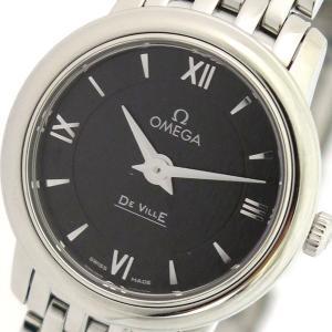 腕時計 オメガ OMEGA デビル DE VILLE クオー...