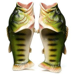 スリッパ サンダル 面白い ビーチスリッパ 魚の形 メンズ レディース 男女兼用 親子 カップル ★...