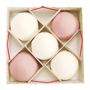 紅白饅頭 (5個入) 上用饅頭 慶事 ギフト 贈答 akasakaaono