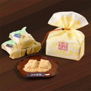 ◆きな粉餅 黒糖 小風呂敷包みに2個入り◆  ◆「赤坂もち」は、初代が遠ざかる江戸の姿を惜しみつつ創...