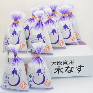【自宅用】水なすぬか漬け10個入|akashiya