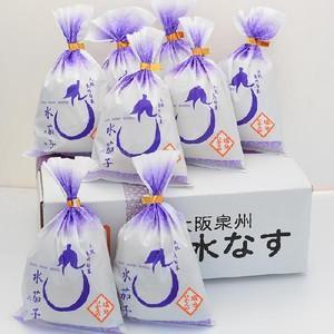 【自宅用】水なすぬか漬け8個入|akashiya