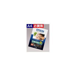 EPSON エプソン 写真用紙(特厚口:光沢A4 100枚) KA4100PSKR|akatsuka-bs