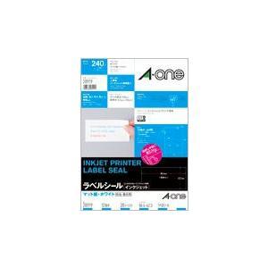 A-one エーワン インクジェットプリンタラベル 紙ラベル A4判 12面四辺余白付  20シート 品番 28919|akatsuka-bs