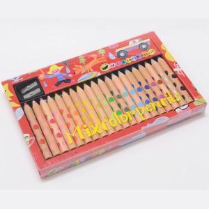 コクヨ KOKUYO 「画期的な二色の芯」ミックス色鉛筆 20本 KE-AC2