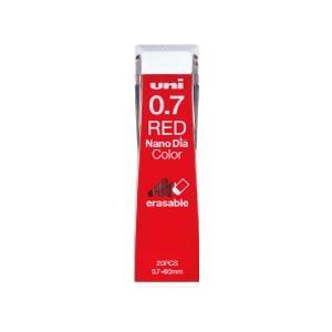 シャープ替芯 三菱鉛筆 uni ユニ ナノダイヤ カラー芯 0.7mm レッド uni0.7-202NDC|akatsuka-bs