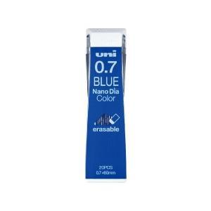 シャープ替芯 三菱鉛筆 uni ユニ ナノダイヤ カラー芯 0.7mm ブルー uni0.7-202...