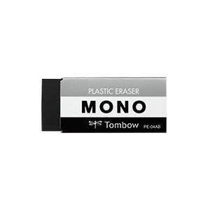 トンボ TOMBOW MONO消しゴム [ブラック] PE-04AB|akatsuka-bs
