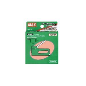 MAX マックス ホッチキス針 タッカタイプ使用針 1208F|akatsuka-bs