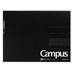 コクヨ KOKUYO 大人キャンパス キャンパスノートパッド方眼罫 70枚カットオフ A4 レ-M727S5-D|akatsuka-bs