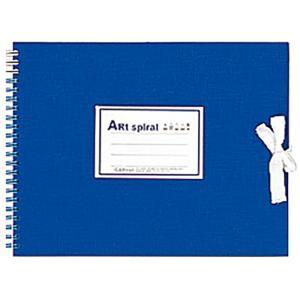 マルマン Maruman スケッチブック アートスパイラル F2 ブルー S312-02