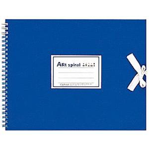マルマン Maruman スケッチブック アートスパイラル F3 ブルー S313-02