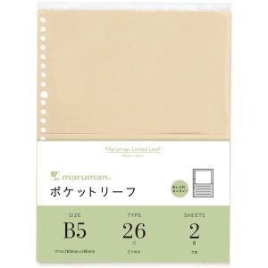 手軽に複数枚のプリントを簡単に入れられるポケットリーフは メモや付箋など、ファイルノートをさらに使い...