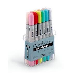 スタート用に厳選した12色セットです。少ない色数でも塗り重ねることで多彩なカラーリングができます。公...