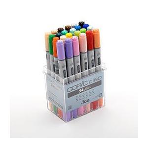 コピック COPIC マーカーイラスト用 コピックチャオ 24色セット