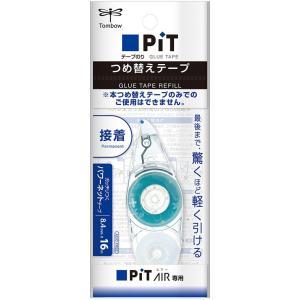 トンボ TOMBOW テープのり ピットエアー用つめ替えテープ 16m巻 PR-MAS|akatsuka-bs
