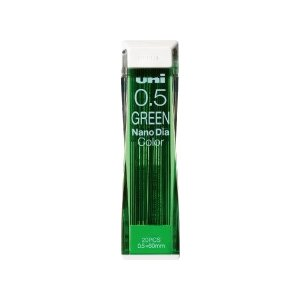 シャープ替芯 三菱鉛筆 uni ユニ ナノダイヤ カラー芯 0.5mm グリーン uni0.5-20...