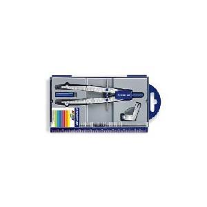 ステッドラー STAEDTLER 製図用品 ノリスクラブ・中車式スクールコンパス(専用アダプタ付) 550 01|akatsuka-bs