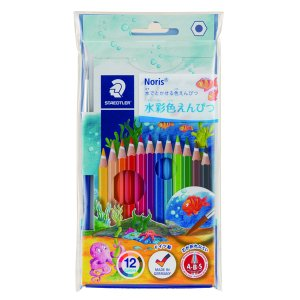 ヨーロッパ安全基準(EN71)に基づいて作られた安全性の高い六角軸の水彩色鉛筆。 色鉛筆で描いた後、...