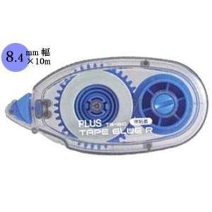 プラス PLUS テープのり TAPE GLUE/TAPE GLUE R テープグルー 強粘着タイプ 10個パック TG-210-10P|akatsuka-bs