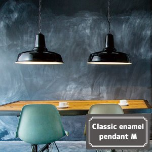 Classic enamel-pendant (クラシックエナメルペンダント) Mサイズ