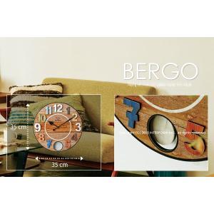壁掛け時計 BERGO[ベルゴ] akaya 03