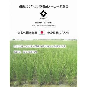 い草マット 寝ござ い草 シーツ 国産 敷パッド 70×120cm|akaya|02