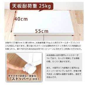ゴミ箱 キャスター付 キッチン 分別 ダストボックス 完成品|akaya|03